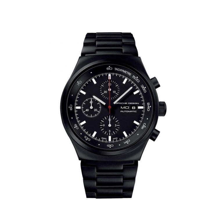 Hodinky Porsche Design Chronotimer - J´Heritage black Chronograph - 6510.43.41.0272
